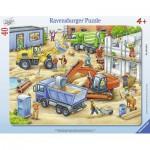 Ravensburger-06120 Puzzle Cadre - Sur le Chantier