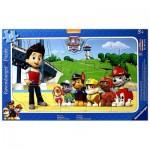 Ravensburger-06124 Puzzle Cadre - Pat'Patrouille