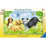 Ravensburger-06130 Puzzle Cadre - Moments de Jeu