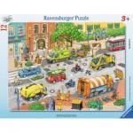 Ravensburger-06135 Puzzle Cadre - La Ville