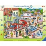 Ravensburger-06581 Puzzle Cadre - Au Secours!