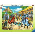 Puzzle Cadre - Tournoi de Chevaliers 35 pièces - Ravensburger