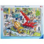 Ravensburger-06768 Puzzle Cadre - Unités de Secours