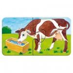 Puzzle  Ravensburger-07333 A la ferme