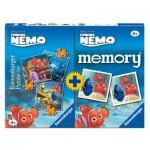 Ravensburger-07344 3 Puzzles Némo + Memory