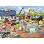 Puzzle  Ravensburger-07510 Chantier de Construction