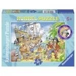 Puzzle  Ravensburger-07512 Pirates