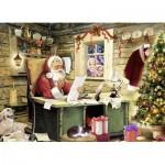 Puzzle  Ravensburger-07549 Liste de Noël