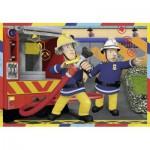 Ravensburger-07584 2 Puzzles - Fireman Sam