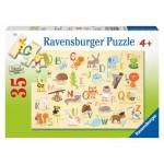 Puzzle  Ravensburger-08761 A-Z Animals (en Anglais)
