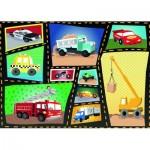 Puzzle  Ravensburger-08781 Engines & Tires