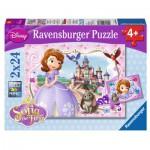 Puzzle  Ravensburger-09086 Princesse Sofia