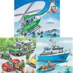 Puzzle  Ravensburger-09221 Intervention de la police