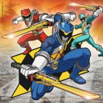 Ravensburger-09393 3 Puzzles - Power Rangers