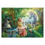 Puzzle  Ravensburger-10559 Pièces XXL - Le Royaume de la Licorne
