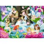 Puzzle  Ravensburger-10942 Pièces XXL - Fées Magiques