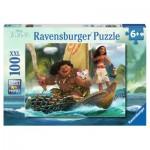 Puzzle  Ravensburger-10943 Pièces XXL - Vaiana et Maui