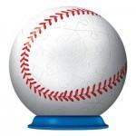 Ravensburger-11868-01 Puzzle Ball 3D - Balle de Baseball