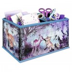 Ravensburger-12084 Puzzle 3D - Girly Girls Edition - Coffret : Animal Trend