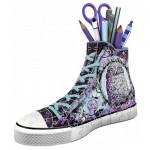 Ravensburger-12085 Puzzle 3D - Pot à Crayons - Sneaker Animal Trend