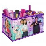 Ravensburger-12091 Puzzle 3D - Girly Girls Edition - Coffret : Violetta