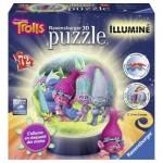 Ravensburger-12138 Puzzle 3D avec LED - Trolls