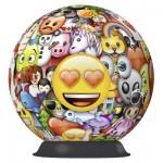Ravensburger-12198 Puzzle 3D - Emoji