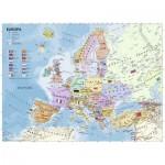 Puzzle  Ravensburger-12837 Pièces XXL - Carte de l'Europe en Allemand