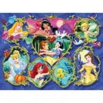 Puzzle  Ravensburger-13108 Princesses Disney : Galerie des Princesses