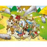 Puzzle  Ravensburger-13130 Astérix : La folle bagarre