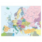 Puzzle  Ravensburger-13132 Carte de l'Europe (en Hollandais)