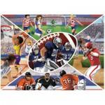 Puzzle  Ravensburger-13208 Pièces XXL - Collage Sportif