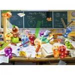 Puzzle  Ravensburger-13211 Pièces XXL - Gelini: Fun dans la Classe
