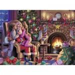 Puzzle  Ravensburger-13217 Père Noël