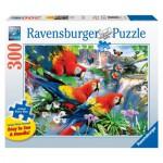 Puzzle  Ravensburger-13534 Pièces XXL - Oiseaux Tropicaux