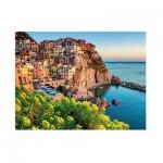 Puzzle  Ravensburger-13602 Cinque Terre, Italie