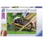 Ravensburger-13649 Puzzle XXL - Teckel