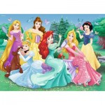 Puzzle  Ravensburger-13666 Disney Princess