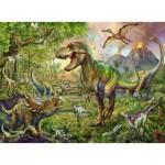 Puzzle  Ravensburger-13668 Pièces XXL - Dinosaures