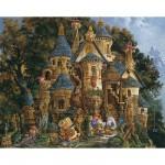 Puzzle  Ravensburger-14112 Christensen : L'école de magie
