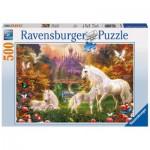 Puzzle  Ravensburger-14195 Licornes enchanteurs