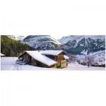 Puzzle  Ravensburger-14463 Chalet dans les Alpes