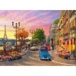 Puzzle  Ravensburger-14505 Soirée à Paris