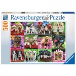 Puzzle  Ravensburger-14659 Puppy Pals