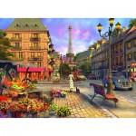 Puzzle  Ravensburger-14683 Promenade à Paris