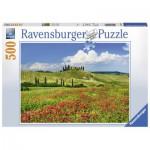 Puzzle  Ravensburger-14700 Eté en Toscane