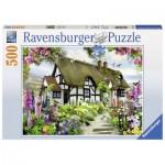 Puzzle  Ravensburger-14709 Cottage de Rêve