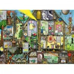 Puzzle  Ravensburger-14731 Colin Thompson : Tomorrow's World
