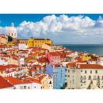 Puzzle  Ravensburger-14757 Lisbonne, Portugal
