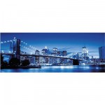 Puzzle  Ravensburger-15050 New York brillant